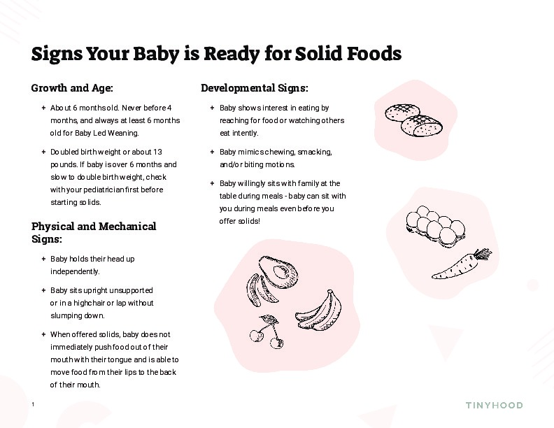Signs Baby is Ready for Solids Preview Image