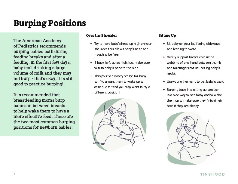 Burping Positions Preview Image