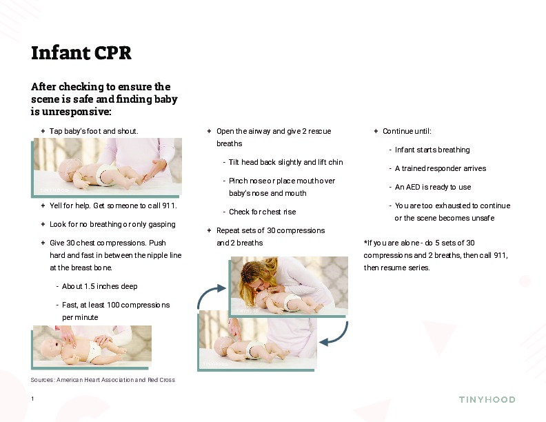 Infant CPR Guide Preview Image