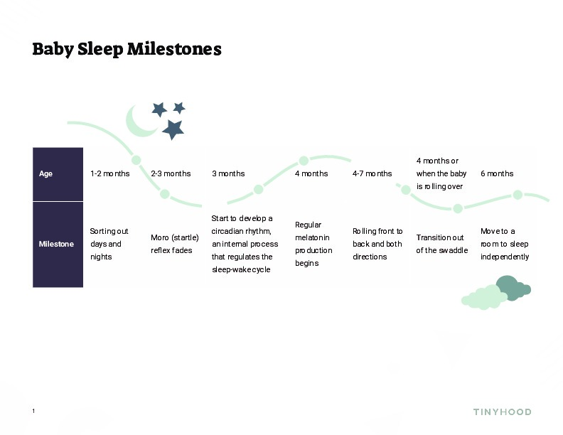 Baby Sleep Milestones Preview Image