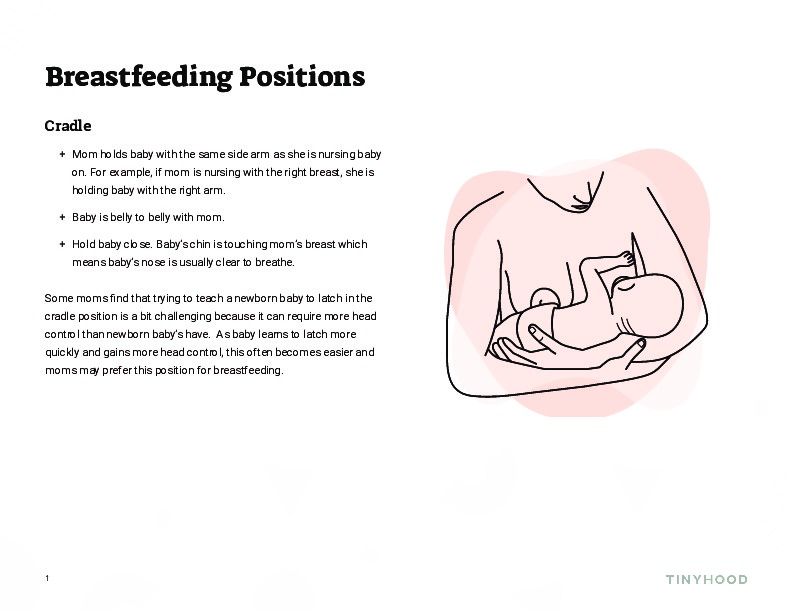 Breastfeeding Positions Preview Image