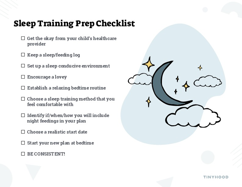 Sleep Training Prep-Checklist Preview Image