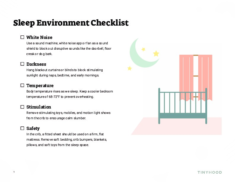Sleep Environment Checklist Preview Image